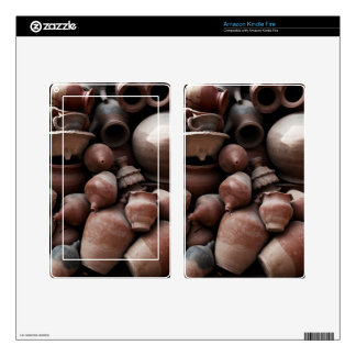 Ceramic Rejects of Potter's Square Nepal Decal For Kindle Fire