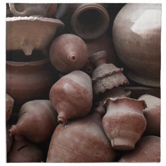 Ceramic Rejects of Potter's Square Nepal Napkin