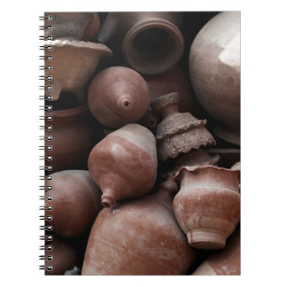 Ceramic Rejects of Potter's Square Nepal Notebook