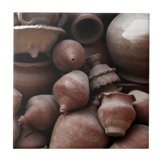 Ceramic Rejects of Potter's Square Nepal Tile