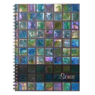 Ceramic Shiny Multicolor Tiles any Text