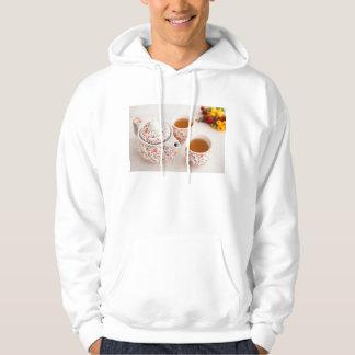 Ceramic Tea Set Hooded Sweatshirt