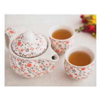 Ceramic Tea Set Panel Wall Art