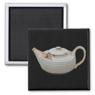 Ceramic teapot magnet