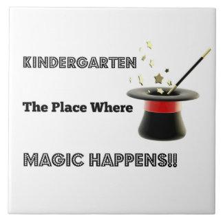 Ceramic Tile Kindergarten Magic