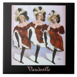Ceramic Tile - Vintage Vaudeville