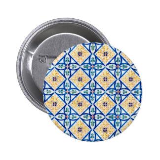 Ceramic tiles 2 inch round button