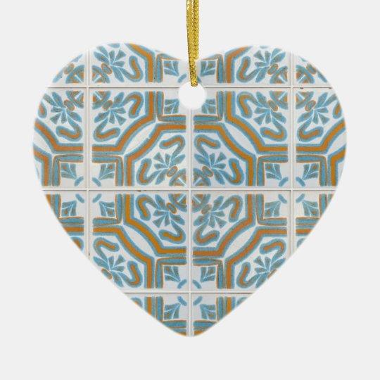 Ceramic tiles ceramic ornament