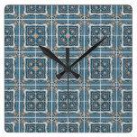 Ceramic tiles clock