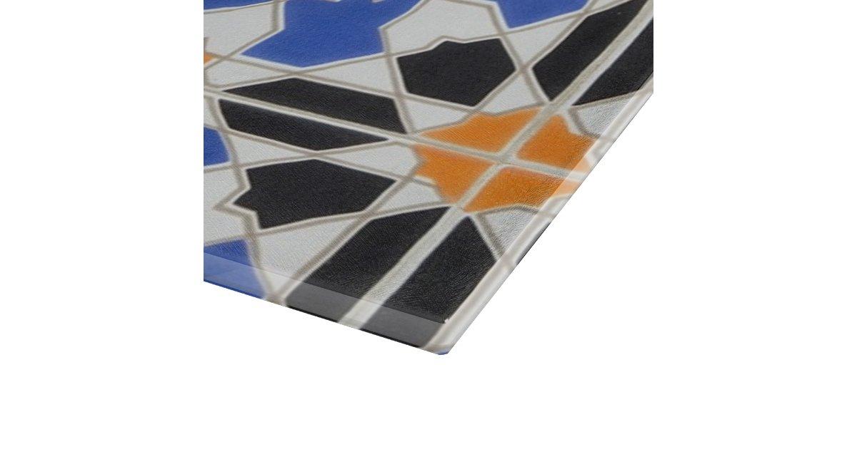 Ceramic Tiles From Granada Cutting Board Zazzle Aquatic Life - Ceramic tile cutting boards