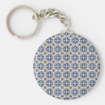 Ceramic tiles keychain