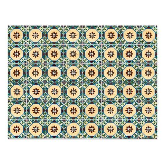 Ceramic tiles postcard