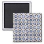 Ceramic tiles refrigerator magnet