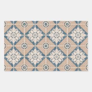 Ceramic tiles rectangular stickers