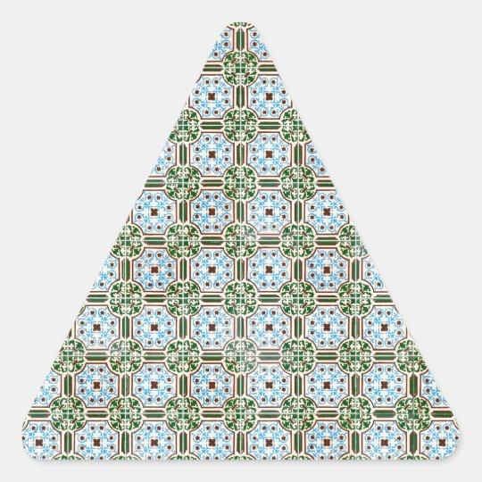 Ceramic tiles triangle sticker