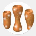 cerámica 3D Pegatina