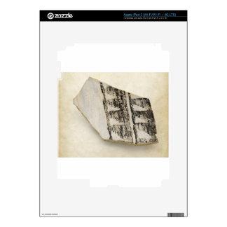 Cerámica antigua del nativo americano de Anasazi Pegatina Skin Para iPad 3