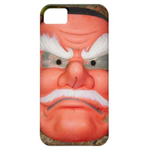 Cerámica asiática, máscara de la porcelana iPhone 5 carcasas
