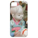 Cerámica asiática, muñeca de cerámica iPhone 5 Case-Mate protectores