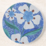 Cerámica azul y blanca del otomano - siglo XVIII Posavasos Personalizados