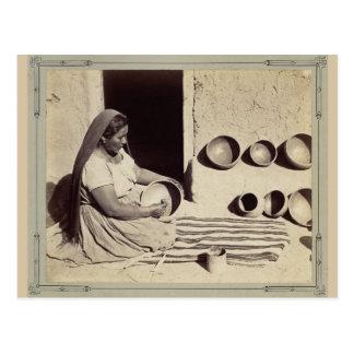 Cerámica de pulido de la mujer - 1879