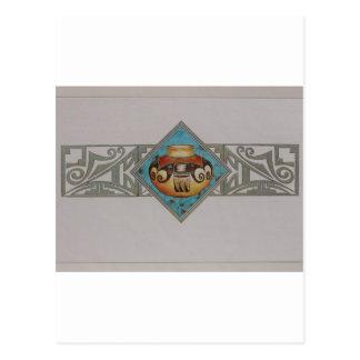 Cerámica del nativo americano tarjetas postales