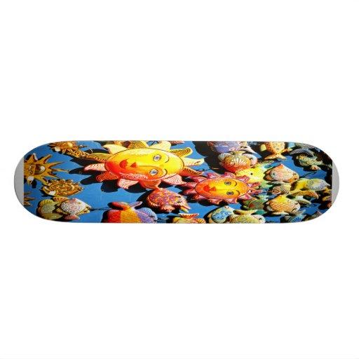 Cerámica soleada tabla de patinar