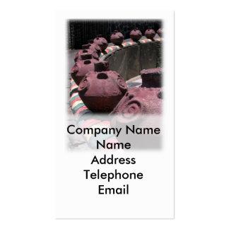 Cerámica y cerámica tarjetas de visita