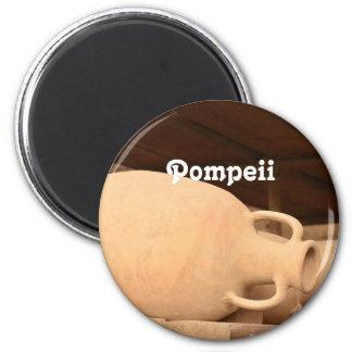 Ceramics in Pompeii 2 Inch Round Magnet