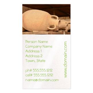 Ceramics in Pompeii Business Card