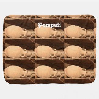 Ceramics in Pompeii Stroller Blanket