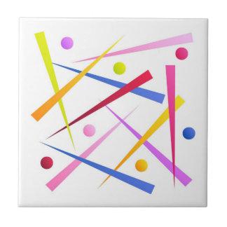 """Ceramics square - Model """"Muddle """" Tile"""