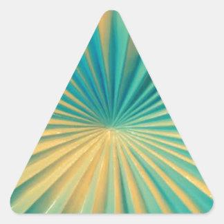 Ceramik de la Florida Pegatina Triangular
