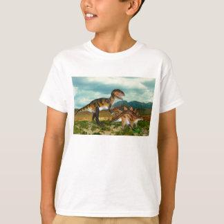 Ceratosaurus and Stegosaurus tee shirt