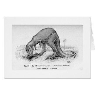 Ceratosaurus art card