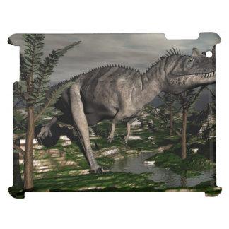 Ceratosaurus dinosaur - 3D render Cover For The iPad 2 3 4
