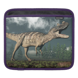 Ceratosaurus dinosaur - 3D render iPad Sleeve