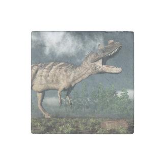 Ceratosaurus dinosaur - 3D render Stone Magnet
