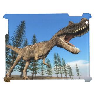 Ceratosaurus dinosaur at the shoreline - 3D render Case For The iPad 2 3 4