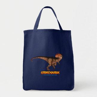 Ceratosaurus dinosaur bag