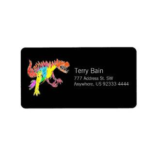 Ceratosaurus Label