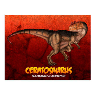 Ceratosaurus Postal