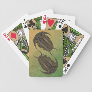 Ceraurus Fossil Trilobite Bicycle Playing Cards