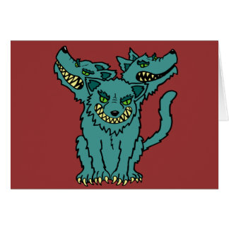 Cerberus - Book of Monsters - Ancient Greece Card