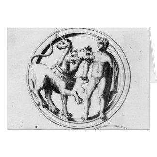 Cerberus domesticó por Hércules Felicitación