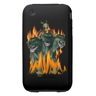 Cerberus In Hell iPhone 3 Tough Cover