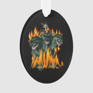 Cerberus In Hell Ornament
