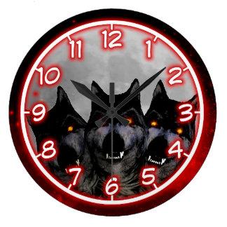 Cerberus Large Clock