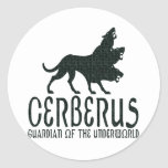 Cerberus Pegatina Redonda