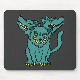 Cerberus - The Three Headed Hell Hound Mouse Pad